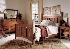 Stickley Harvey Ellis Bed #bedroom