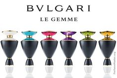 Bvlgari Le Gemme Fragrance Collection