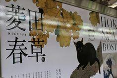 上野之森美術館的看板
