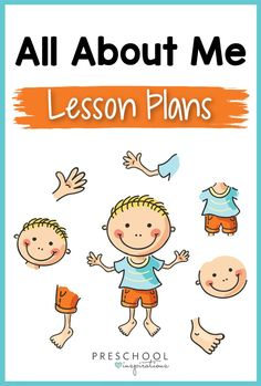 All About Me Lesson Plans - Preschool Inspirations