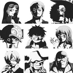 Straw Hat Pirates - One Piece
