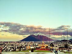 La ciudad de Monterrey desde el Obispado