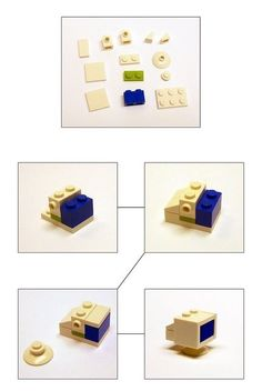 Make a lego tv