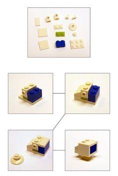 Make a lego tv