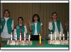 Girl Scout Investiture & Rededication Ceremonies --- including Girl Scout Law in Jewels