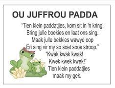Afrikaans Is Maklik Grade R Worksheets, Free Printable Alphabet Worksheets, School Worksheets, Preschool Poems, Kids Poems, Quotes Dream, Life Quotes Love, School Songs, School Fun
