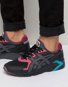 Asics DS Retro OG Sneakers In Black H704Y 9095