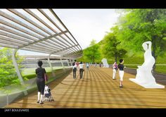"""""""Sangam Culture Storage"""" - Second-prize entry by Kyuseon Hong for Mapo Oil Reserve Base competition"""