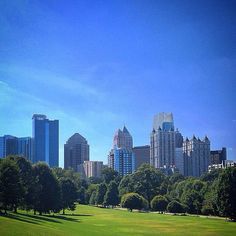 Midtown, Atlanta skyline