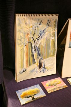 Watercolor Painting for All with instructor Margaret Scanlan. | Visit www.folkschool.org to find out more about our classes.
