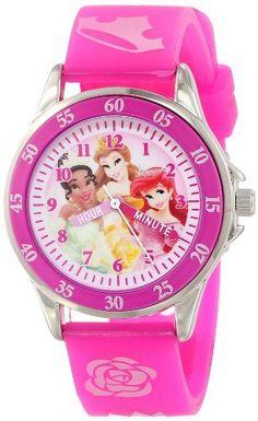 Disney Kids' PN1051 Disney Princess Pink Band Watch, http://www.amazon.com/dp/B00GXXK8EQ/ref=cm_sw_r_pi_awdm_Uyh3tb0CV17HT