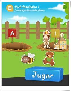 """""""Arrastra las vocales"""" es un juego en el que hay que arrastrar las imágenes hasta las vocales con las que comienza su nombre. Online Logo, Spanish Class, English Lessons, Family Guy, App, Games, Fictional Characters, Interactive Activities, Infant Learning Activities"""