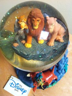 Lion King Snowglobe (Disney Musical Pride Rock
