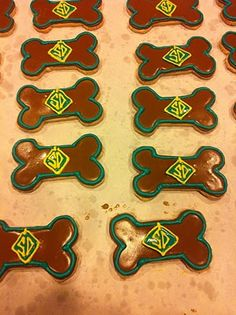Scooby Doo Biscuits  Perfect Party Favors for Alex's 7th Birthday!