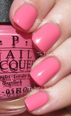 OPI Spring/Summer 2014 Brazil Collection Swatches - Kiss Me I'm Brazilian