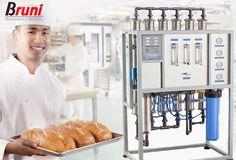 Equipos de Ósmosis Inversa para todos tus procesos productivos: cafeterías, panaderías, restaurantes y hoteles