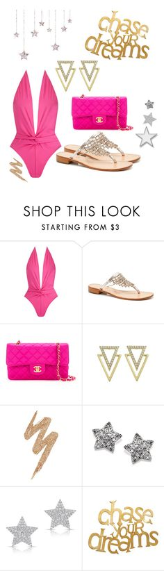 """""""CHASE YOUR DREAMS ☆☆☆"""" by aurora-lovely-princess ❤ liked on Polyvore featuring Norma Kamali, Chanel, Urban Decay, Diamond Star and PBteen"""