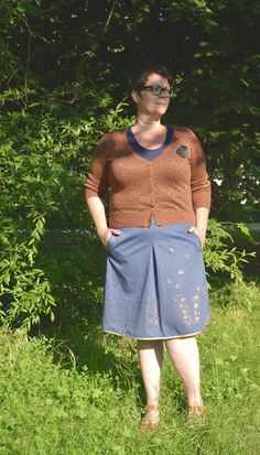 So Popo Sew: The Charlie Skirt with Lotte Martens and Bambiblauw