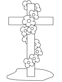 free printable easter cross coloring pages for kids online preschool free printable easter cross coloring pages - Catholic Coloring Pages Easter