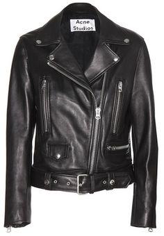 ec351c1599d Acne mock leather jacket on ShopStyle. Moto Jacket, Jacket Men, Leather  Motorcycle Jackets