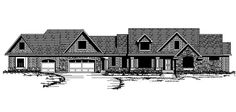 Craftsman   Traditional   House Plan 42104 I love the master suite in this one.