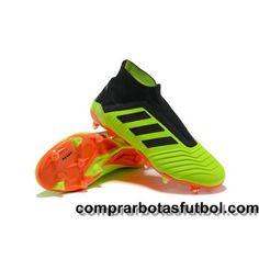 designer fashion 2bcb9 ccba9 Descuento Botas De Futbol Adidas Predator 18+ FG Verde Negro Naranja