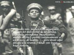 """""""Hermano mio...""""  Fragmento tomado de """"El periodismo durante la guerra de Independencia"""" de Emmanuel Carballo (Jus 2010)"""