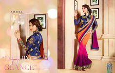 """""""Amaira Designer saree From Karma Trendz"""" 365fstudio.com Grab the Complete Catalog of 12 Pieces * Rs """"Call me""""/- Only !!! Call @ +919724300380 / Message us to inquire !!!  365fstudio.com (Manufacturers Of Exclusive Any Type Fancy Suit & Dress Materials) 621, New Textile Market, Ring Road,"""