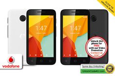 Unlock Vodafone Smart Mini 7 by unlock code and use any SIM card from any network worldwide. Sims, Coding, Phone, Cards, Telephone, Mantle, Maps, Playing Cards, Mobile Phones