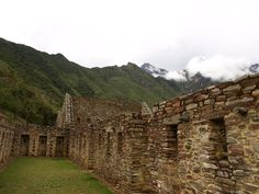 Reconstructed buildings at the center of Choquequirao. http://www.choquequirawtrek.com/