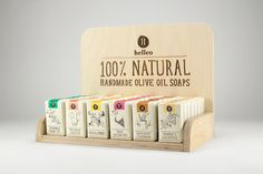 Helleo Jabones Naturales - La Dieline - Branding & Packaging