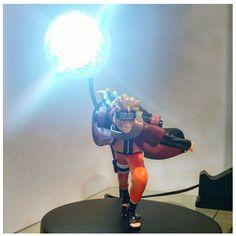 RASENGAN! 🌀 Early xmas gift for the boyfriend 😊 #naruto #lamp #xmas #rasengan #anime #figurine #lamplanet #colourchanging