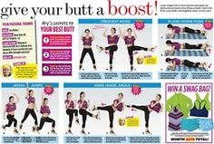 Give your butt a boost