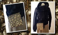 IT-Bag im Goldrausch #gold #diy #style #fashion #accessoires #woman #design #trends #trendy #selfmade #selbermachen #handarbeit #unionknopf #knöpfe #knoepfe #buttons