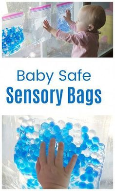 Safe Sensory Play for Babies! Sensory Bags keep small parts (and big messes) contained, so baby can enjoy sensory play! : Safe Sensory Play for Babies! Sensory Bags keep small parts (and big messes) contained, so baby can enjoy sensory play! Baby Sensory Bags, Baby Sensory Play, Baby Play, Sensory Play For Babies, Sensory Bottles For Toddlers, Infant Play, Toddler Learning Activities, Infant Activities, Preschool Activities