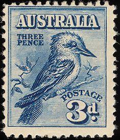 Australian Kookaburra stamp (please follow minkshmink on pinterest)