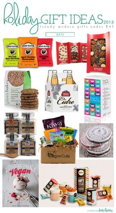 2013 holiday gift ideas: eats | holiday gifts under $45