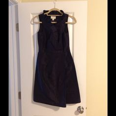 Black Blakey j crew Dress size  0 worn once! Perfect for wedding or cocktail party! J. Crew Dresses