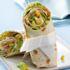 Geflügel-Wrap Rezept | Weight Watchers