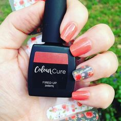 Oh #firedupjn you're such a lovely coral #colourcure