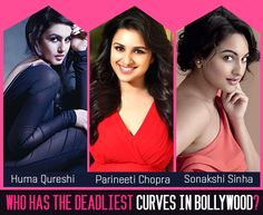 Who according to you has the sexiest curves in #bollywood? Click here to vote