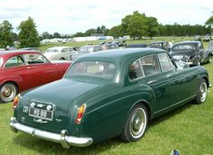 1965 Four-door Sports Saloon by H.J. Mulliner (chassis SRJ579C, design 2042), one of the 21 units produced