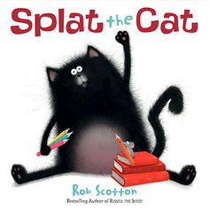 Funny and fuzzy, Splat the Cat is the delightfully drawn tale of cat who learns all about school and mice. Full of physical humor and tender moments, Splat is the sort of likable, befuddled hero any kid can relate to and his antics help ease any fears about school.