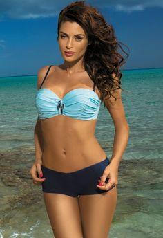 Kostium Kąpielowy Tiffany Fata - Blueberry - FashionBoutique - Stroje kąpielowe