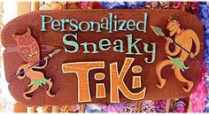 i think i need one of these custom tiki signs for the bar!