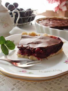 La cuisine creative: Tart sa šljivama i čokoladom