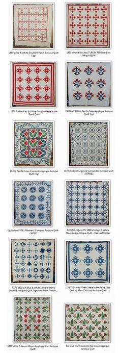 Love antique quilts