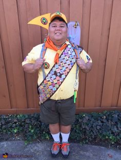 Russell from UP - 2014 Halloween Costume Contest via @costume_works