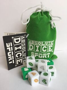 Like Sport then you'll love this. Great game in a simple format that everyone can enjoy. Absolute Dice Sport comes in a lovely velvet pouch with a drawstring closure, lightweight and ideal to slip into a bag or pocket for travel or holidays. No complicated rules or special score sheets. It's easy, if you can count, you can play. Have Fun.