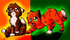 leafpool and squirrelflight
